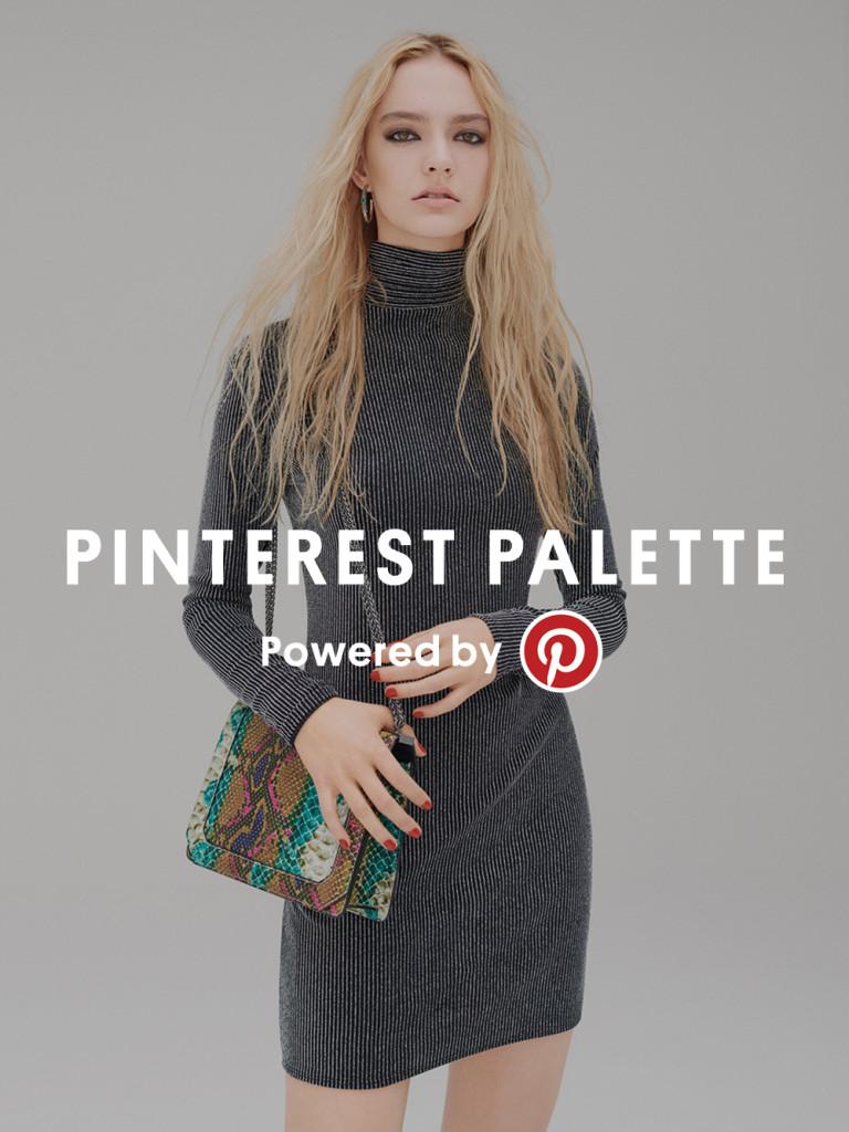 Topshop's Pinterest Palette campaign for LFW SS16