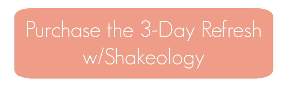 3dr with shakeology