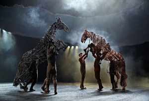 War Horse at the New London Theatre. Photo credit Brinkhoff Mögenburg