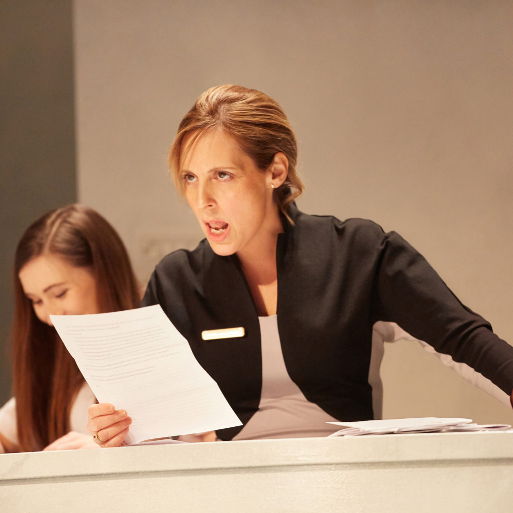 Much ado about nothing, Kate Lamb, Mel Giedroyc photo (c) Mark Douet