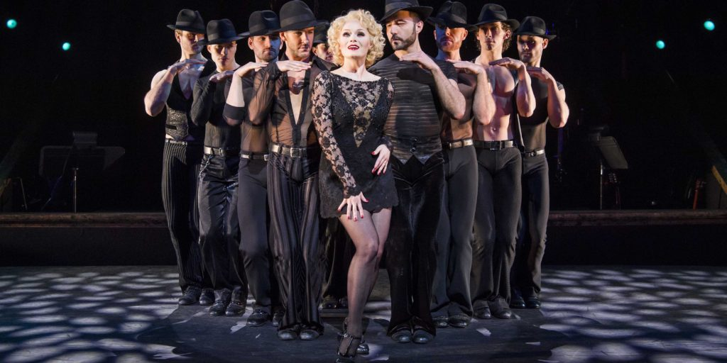 A scene from Chicago The Musical @ Phoenix Theatre, London.