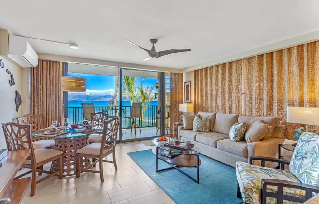 Papakea Resort oceanfront condo