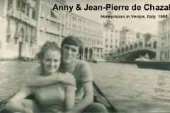 Anny and Jean-Pierre Honeymoon