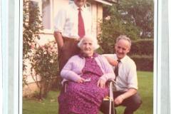 George Mayer, Yvonne de Chazal & Frank Mayer