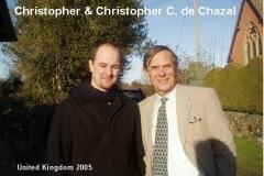 Christopher & Christopher C. de Chazal