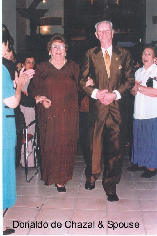 Donaldo de Chazal & Spouse