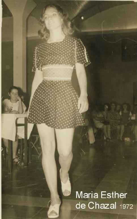 Maria Esther de Chazal 1972
