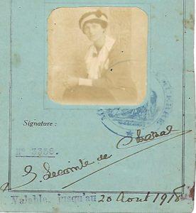 Suzanne de Chazal Croix rouge