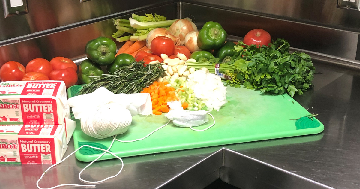 Cooking with Fresh Vegetables