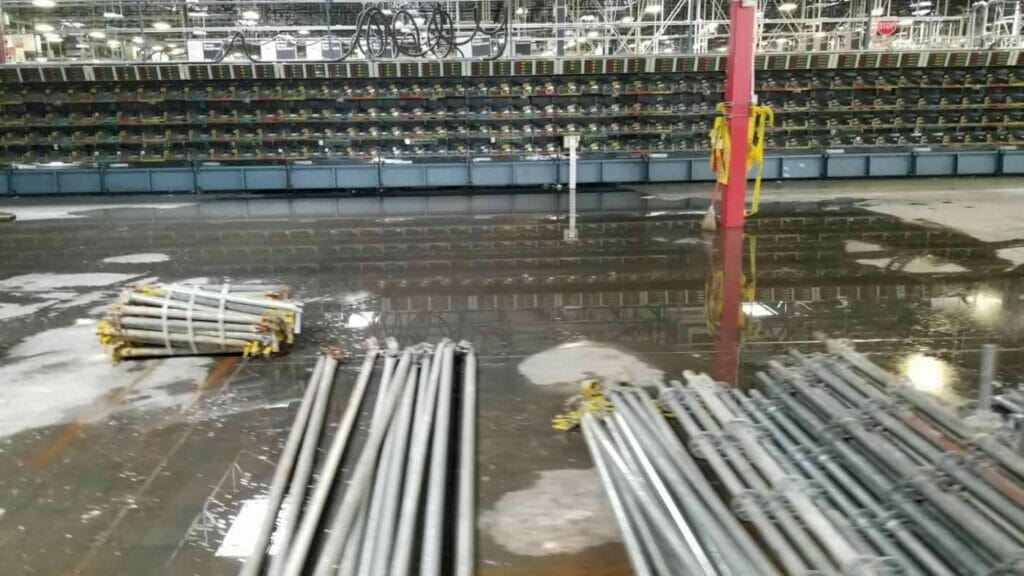 Water Damage - Tex A Clean of Houston, Texas