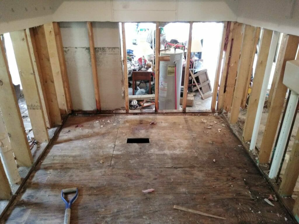 Water Mitigation Contractor Property Damage Restoration