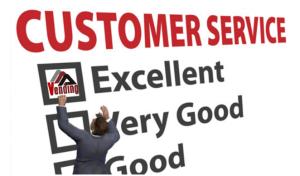 Excellent Customer Service AAA Vending