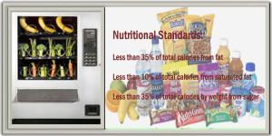 nuttritional standards aaa vending