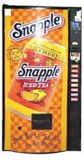 Snapple Vending Machine option