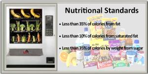 AAA Vending Nutritional Standards