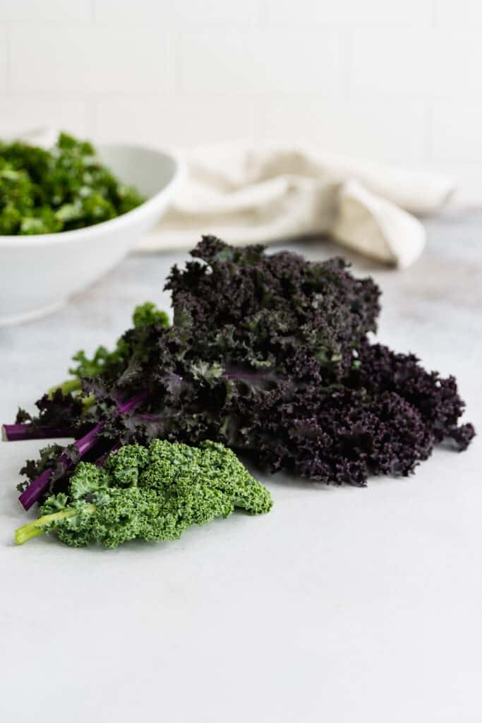 Red and Green Kale