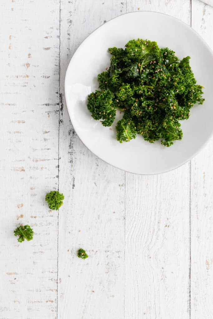 Quick and Easy Sesame Kale Salad