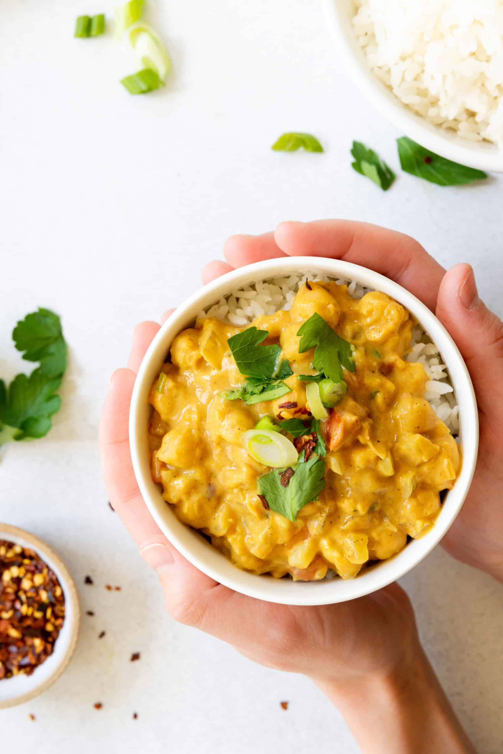 Chickpea Coconut Curry   Gluten-Free, Vegan, Plant-Based