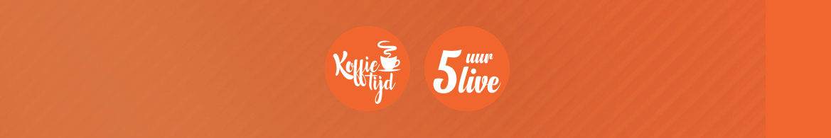 Logos for Koffietijd - 5 uur live.