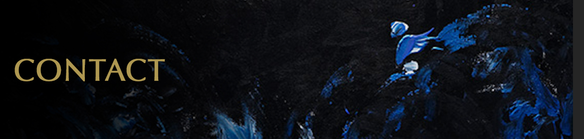 """CONTACT.Image shows a close-up of the painting """"Major Tom"""" in which some people see a spaceman wearing a helmet sitting on an asteroid."""