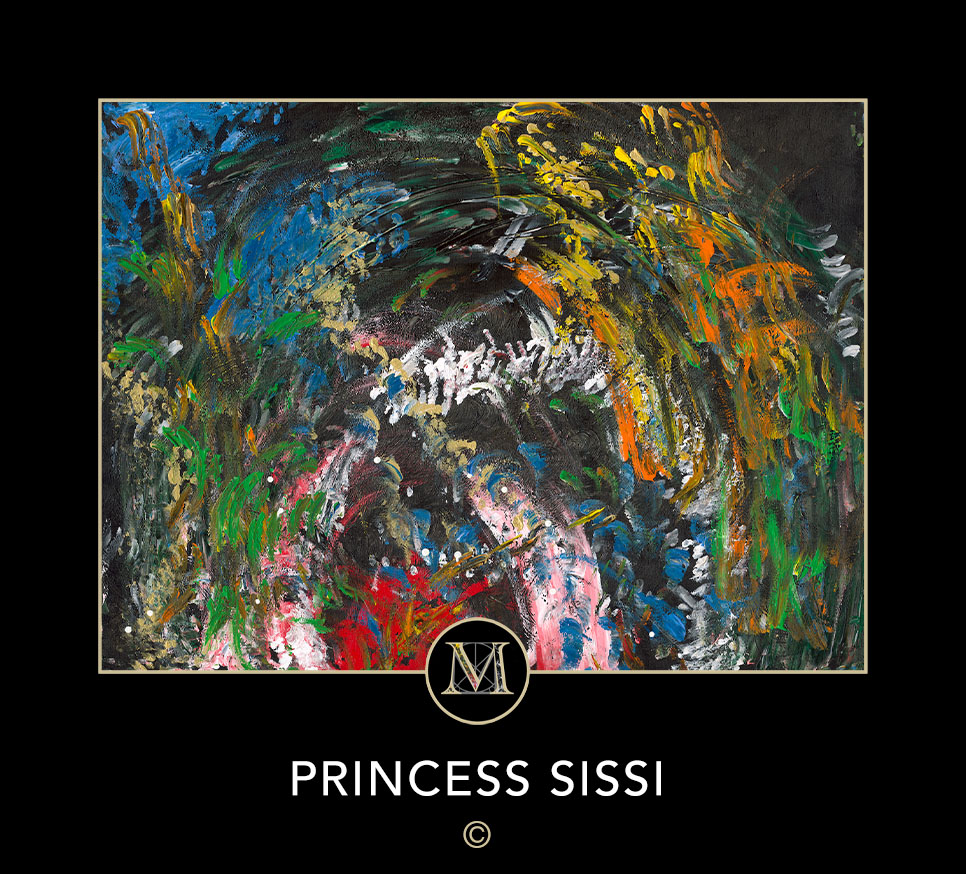 Princess Sissi. This is the original orientation of this painting.
