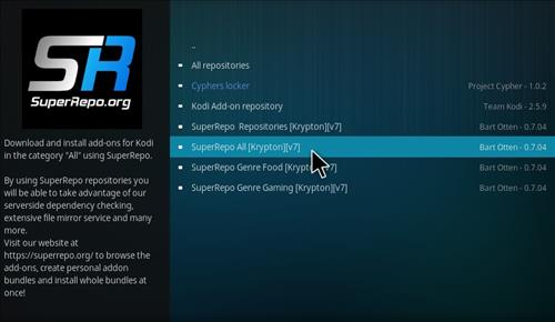 How to Install Super Repo All Krypton 17.1 step 16