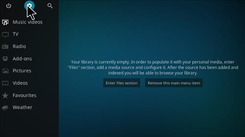 How to Install dk-xbmc-repaddon Add-on Repository step 1