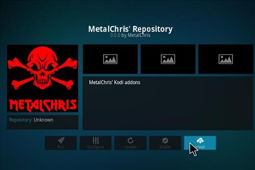 MetalChris' Repository Kodi 17 Krypton How to Install Guide step 18