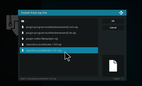 How to Install Repo BuildsTube with Screenshots step 12
