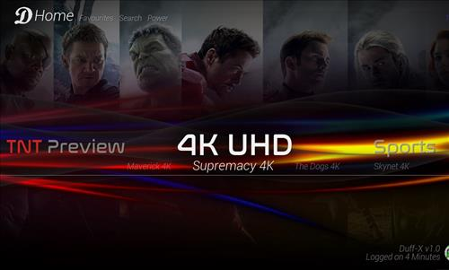 How to Install Duff-X Kodi Build Leia 18 with Screenshots pic 4
