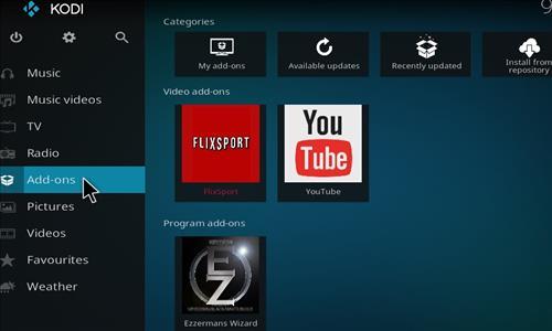 How to Install Flix Sport Kodi Add-on with Screenhots step 8