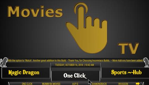 How to Install Black and Gold Kodi Build with Screenshots pic 2