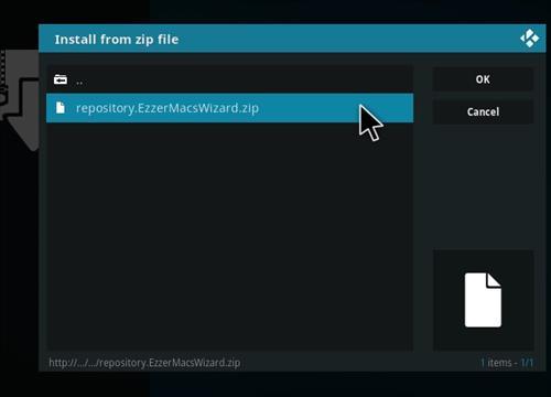 How to Install DeathStar Add-on Kodi 18 Leia step 12