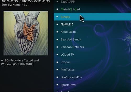 How to Install Scrubs Kodi Add-on with Screenshots step 17