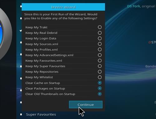 How to Install Breezz RD Kodi Build 18 Leia step 20
