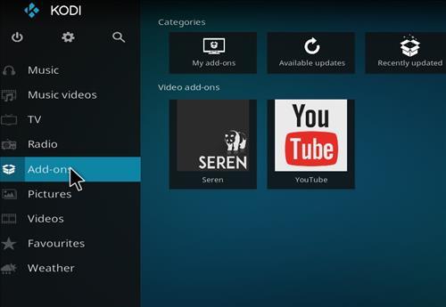 How to Install Seren Kodi Add-on with Screenshots step 8