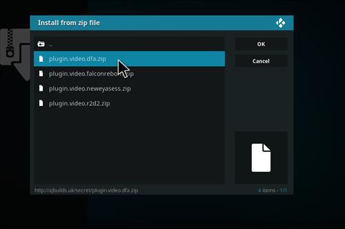 How to Install Death from Above Kodi Add-on with Screenshots step 12