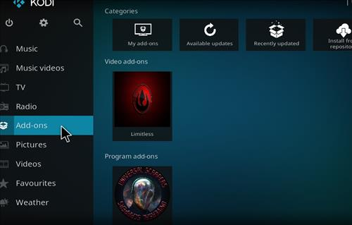How to Install Limitless Kodi Add-on with Screenshots step 8