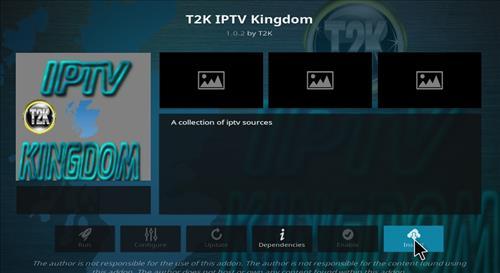 How to Install T2K IPTV Kingdom Kodi Add-on with Screenshots step 18