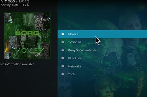 How to Install Borg Kodi Add-on with Screenshots pic 2