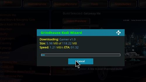 How to Install Gamer Kodi Build with Screenshots step 26