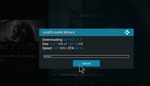 How to Install Impact Kodi Build with Screenshots step 20