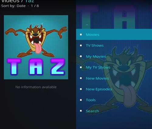 How to Install Taz Kodi Add-on with Screenshots pic 2