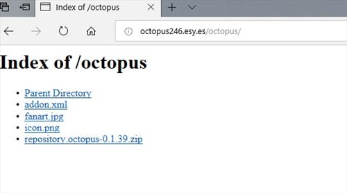 manual and download octopus repo step 1