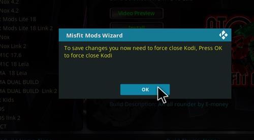 How to Install Atomic 18 Kodi Build Leia step 21