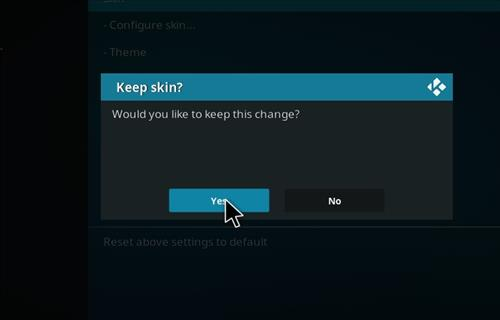 How to change the Skin back to Default Estuary hardnox step 5