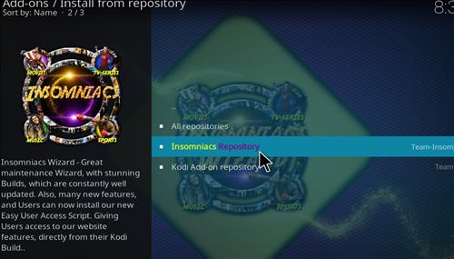How to Install Black and Gold Kodi 18 Build Leia step 15