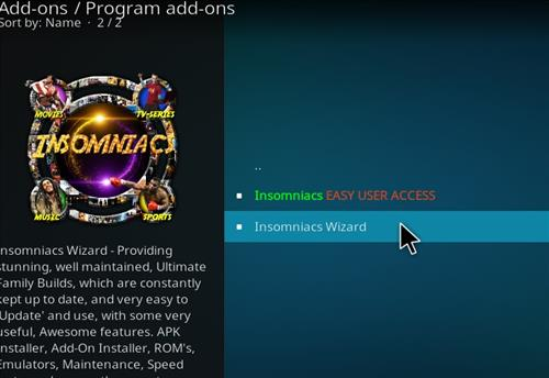 How to Install Black and Gold Kodi 18 Build Leia step 17