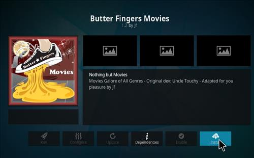 How to Install Butter Fingers Movies Kodi 18 Leia Add-on step 19