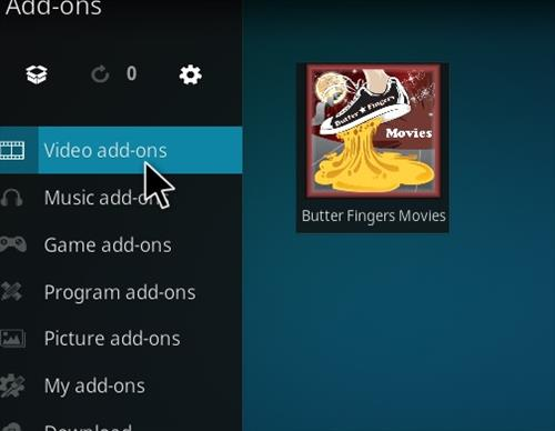 How to Install Butter Fingers Movies Kodi 18 Leia Add-on step 22
